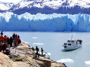 Luna de miel en Perito Moreno