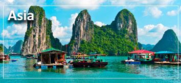Viaje de novios a Asia