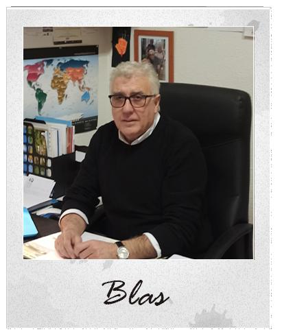 Blas. Director Viajesmundinovios