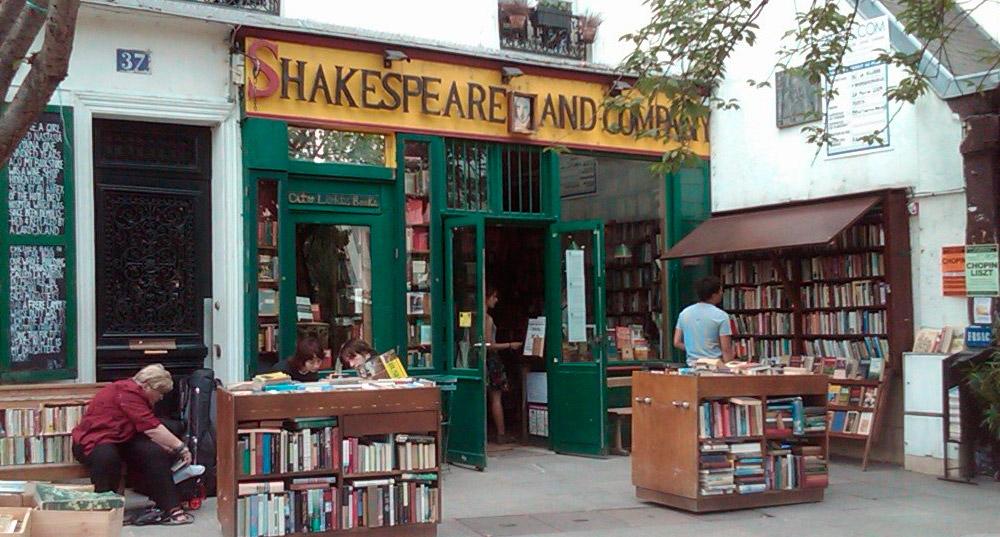librera Shakespeare & Co