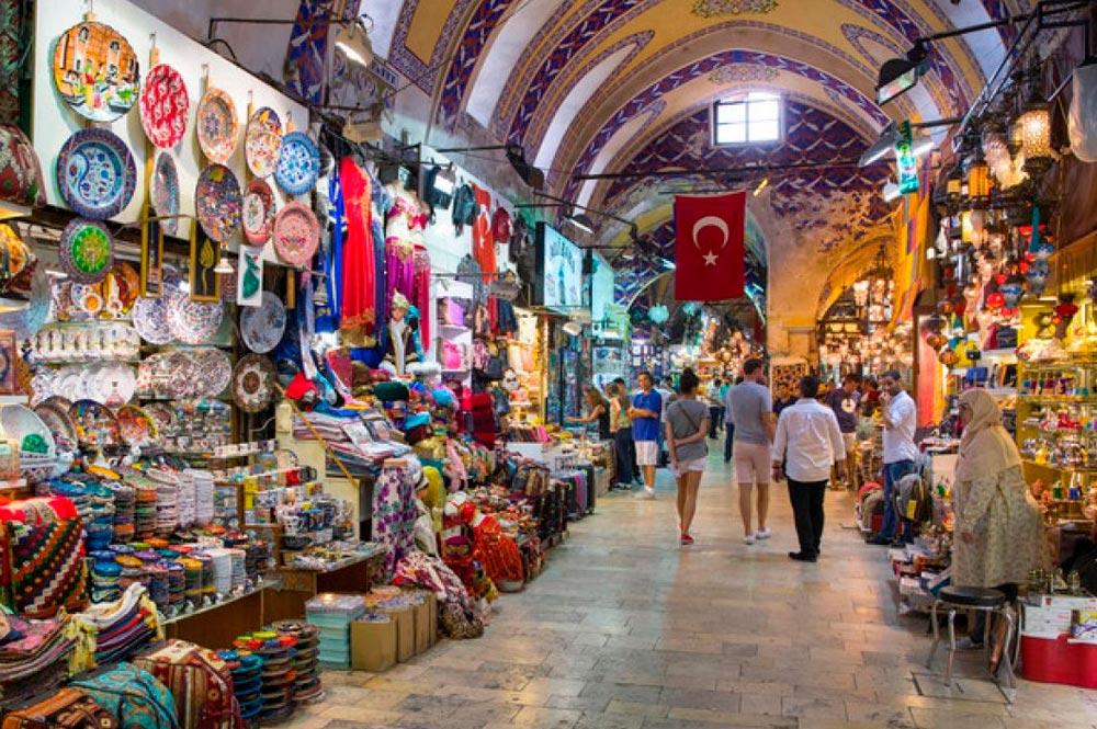 Gran Bazar de Estambul. Ideal para compras de novios