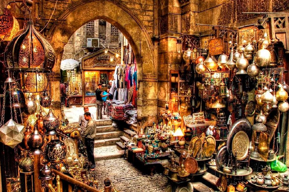 Jan el-Jalili el gran bazar de El Cairo para tu viaje de novios