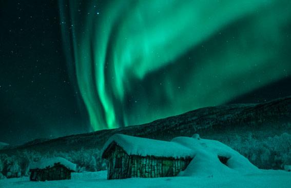Tromso y el reino de las auroras boreales.