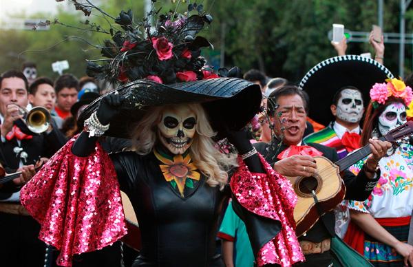 Fiesta de la muerte ne Mexico