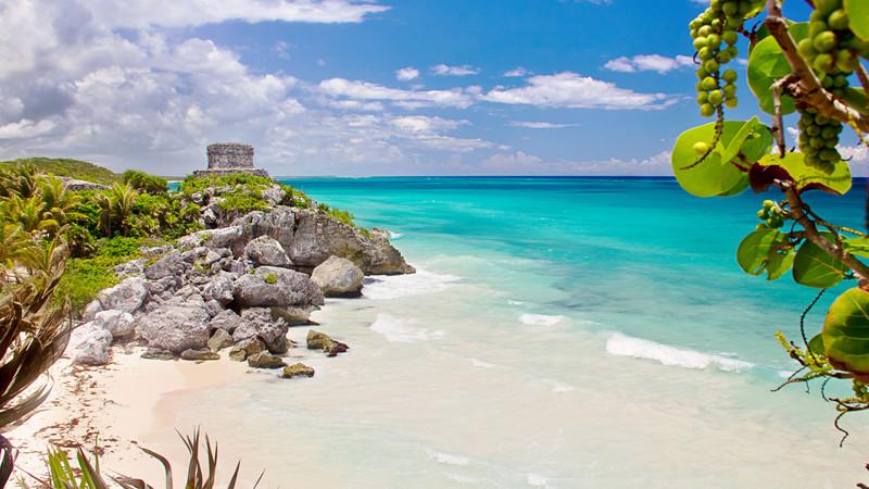 Playas de mexico, tu destino para el viaje de novios